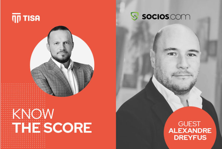 KNOW THE SCORE: Partnership between TISA and Socios.com
